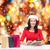gülümseyen · kadın · Noel · noel · online · alışveriş - stok fotoğraf © dolgachov