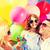 家族 · カラフル · 風船 · 夏 · 休日 · お祝い - ストックフォト © dolgachov