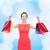 笑い · エレガントな · 女性 · ドレス · ショッピングバッグ · ショッピング - ストックフォト © dolgachov
