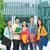 groep · glimlachend · tieners · vriendschap · business · onderwijs - stockfoto © dolgachov