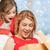 матери · ребенка · открытие · настоящее · Рождества · семьи - Сток-фото © dolgachov