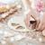 クッキー · ビスケット · 女の子 · 食品 · デザート · 背景 - ストックフォト © dolgachov