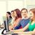 мужчины · студент · Одноклассники · компьютер · класс · образование - Сток-фото © dolgachov