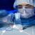 közelkép · tudós · készít · teszt · labor · tudomány - stock fotó © dolgachov