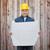 smiling male builder in helmet reading blueprint stock photo © dolgachov
