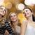 feliz · las · mujeres · jóvenes · baile · club · nocturno · disco · fiesta - foto stock © dolgachov