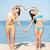 meisjes · strand · zomer · vakantie · vakantie - stockfoto © dolgachov