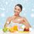 saludable · desayuno · yogurt · granola · griego · pina - foto stock © dolgachov