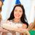 3 ·  · 女の子 · 白 · 笑顔 · 幸せ - ストックフォト © dolgachov