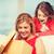 Mutter · Tochter · Bild · Geschenkbox · Frau · Mädchen - stock foto © dolgachov