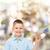 улыбаясь · мало · мальчика · самолет - Сток-фото © dolgachov