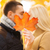 romântico · casal · outono · homem - foto stock © dolgachov