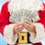 babbo · natale · dollaro · soldi · Natale · vacanze - foto d'archivio © dolgachov