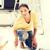 домохозяйка · Живопись · ярко · фотография · домой · женщину - Сток-фото © dolgachov