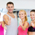 groep · mensen · gymnasium · tonen · fitness · sport - stockfoto © dolgachov