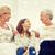 mosolyog · családi · otthon · család · boldogság · generáció · emberek - stock fotó © dolgachov