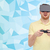 man in virtual reality headset with gamepad stock photo © dolgachov