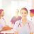 szczęśliwy · lekarza · grupy · szpitala · kliniki · zawód - zdjęcia stock © dolgachov