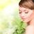 女性 · 芽 · 画像 · 白 · 健康 · 緑 - ストックフォト © dolgachov