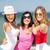grupo · ninas · playa · verano · vacaciones · vacaciones - foto stock © dolgachov