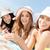 ninas · tomar · el · sol · playa · verano · vacaciones · vacaciones - foto stock © dolgachov
