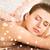 beautiful young woman in spa salon getting massage stock photo © dolgachov