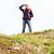 туристических · борода · рюкзак · глядя · далеко · далеко - Сток-фото © dolgachov