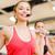 группа · женщины · спортзал · фитнес · спорт - Сток-фото © dolgachov