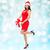 美しい · セクシーな女性 · サンタクロース · 帽子 · ギフトボックス · 人 - ストックフォト © dolgachov