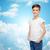 nublado · dez · nuvens · forma · número · ilustração · 3d - foto stock © dolgachov