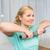 女性 · 行使 · ダンベル · ホーム · フィットネス · スポーツ - ストックフォト © dolgachov