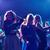 boldog · barátok · tánc · klub · ünnepek · fények - stock fotó © dolgachov