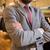 男 · ドレッシング · スーツ · スタイル · エレガントな · 残忍な - ストックフォト © dolgachov