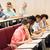 grupo · internacional · estudantes · falante · palestra · educação - foto stock © dolgachov