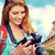 счастливым · цифровая · камера · фотография · женщину · девушки - Сток-фото © dolgachov
