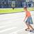 スケート · 市 · 夏 - ストックフォト © dolgachov