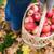 femme · panier · pommes · nature - photo stock © dolgachov