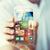 közelkép · férfi · kéz · világ · hírek · okostelefon - stock fotó © dolgachov