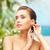 mujer · hermosa · componen · espacio · bano · piel · femenino - foto stock © dolgachov