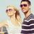 luna · de · miel · Resort · feliz · jóvenes · recién · casados - foto stock © dolgachov