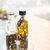 twee · olijfolie · maagd · olijven · geïsoleerd · witte - stockfoto © dolgachov