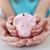 семьи · рук · Piggy · Bank · детей · деньги - Сток-фото © dolgachov