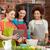 szczęśliwy · kobiet · gotowania · kuchnia · klasy - zdjęcia stock © dolgachov