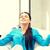十代の少女 · 瞑想 · 明るい · 画像 · 少女 · 手 - ストックフォト © dolgachov