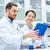 wetenschappers · microscoop · lab · wetenschap · chemie - stockfoto © dolgachov