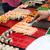 női · kéz · szusi · angolna · evőpálcikák · nő - stock fotó © dolgachov