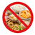 atrás · não · símbolo · fast-food - foto stock © dolgachov
