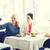women with smartphone taking selfie at restaurant stock photo © dolgachov