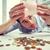 экономический · крах · бизнесмен · кричали · из · рот - Сток-фото © dolgachov