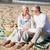 gelukkig · picknick · zomer · strand · familie - stockfoto © dolgachov